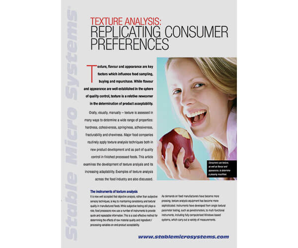Replicating Consumer Preferences article
