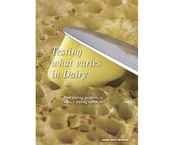 What varies in Dairy article