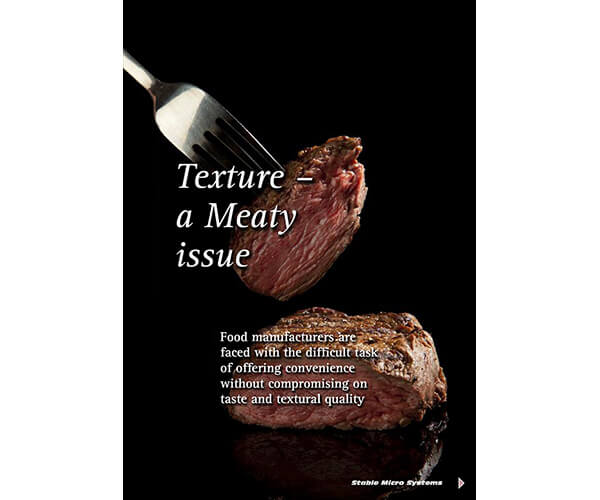 Texture a Meaty issue article