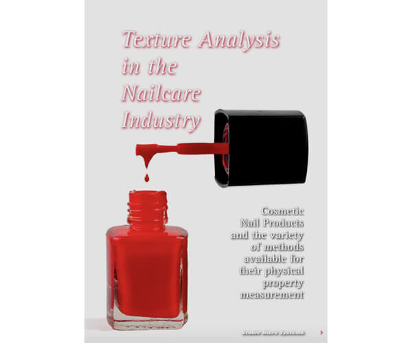 Texture Analysis in the Nailcare Industry article