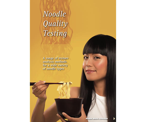 Noodle Quality Testing article