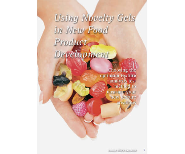 Using Novelty Gels in Food Product Development article
