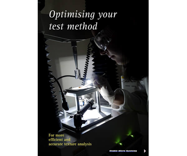 Optimising your test method article