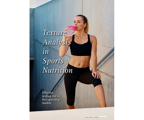 Texture Analysis in Sports Nutrition article