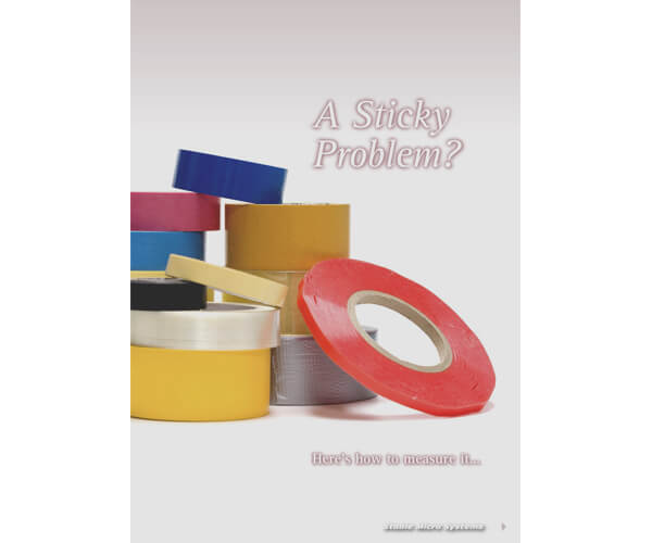 A Sticky Problem - Testing Tapes article