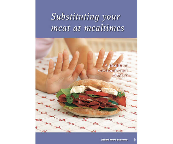 Meat substitution article