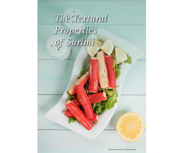 The Textural Properties of Surimi article