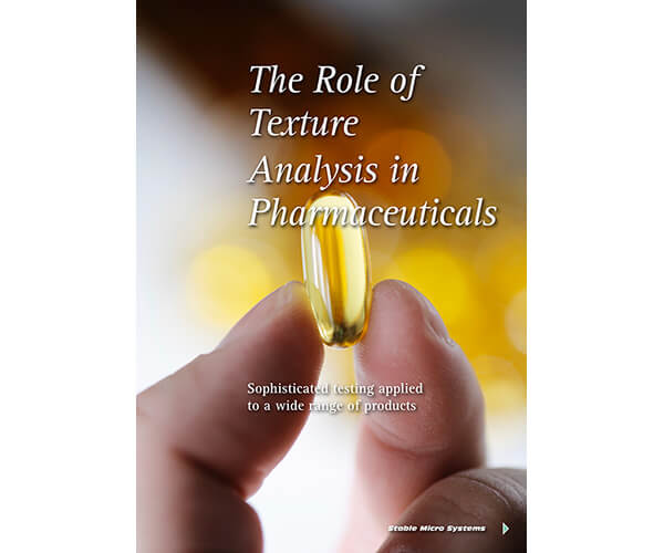 Role of Texture Analysis in Pharmceuticals article