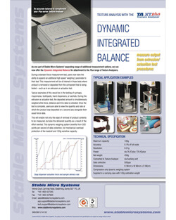 Dynamic Integrated Balance brochure