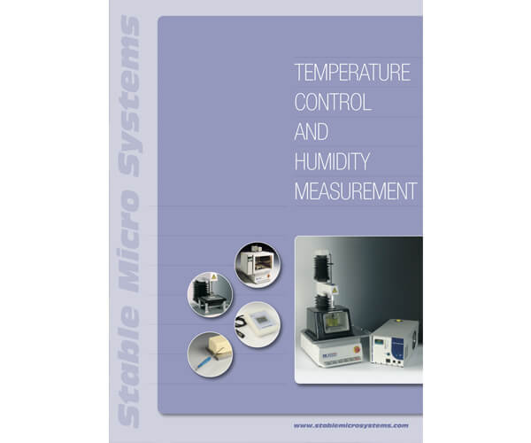 Temperature Control and Measurement brochure