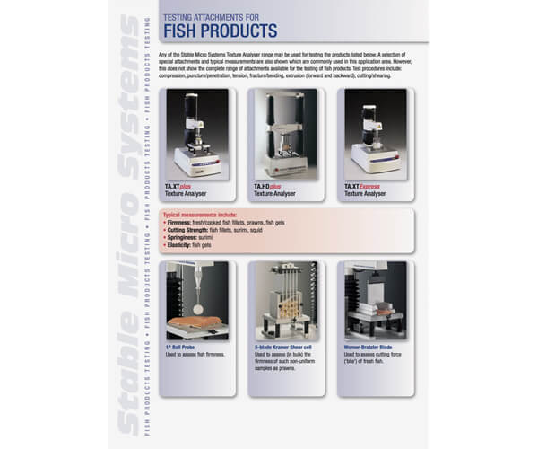 Fish applications brochure