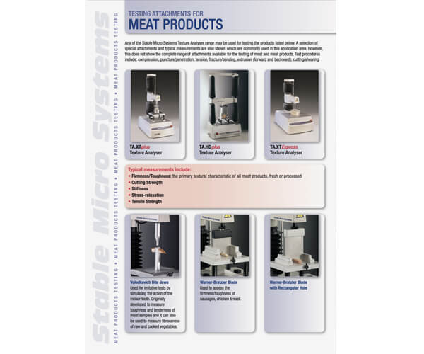 Meat applications brochure