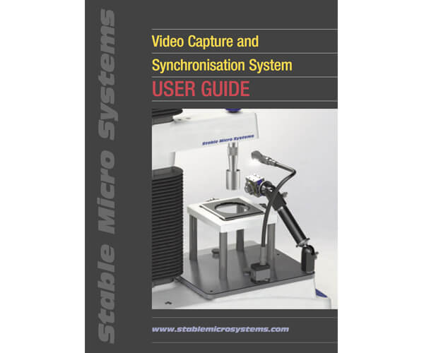 Video Capture and Synchronisation System User Guide