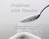 Powder article